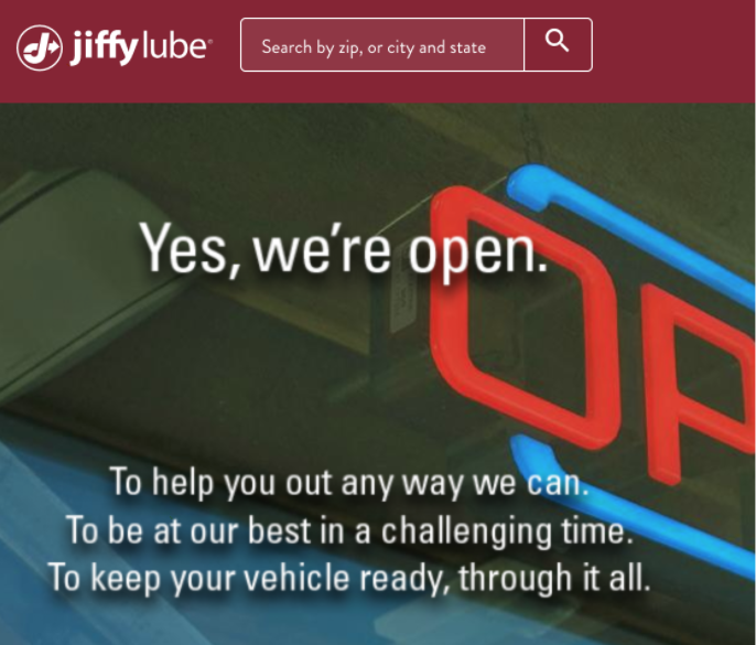 Jiffy Lube Storefront